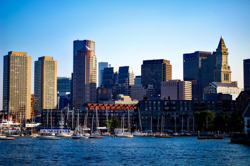 Skyline von Boston, Massachusetts