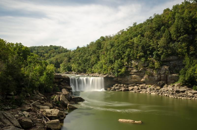 Cumberland Falls Nationalpark, Kentucky
