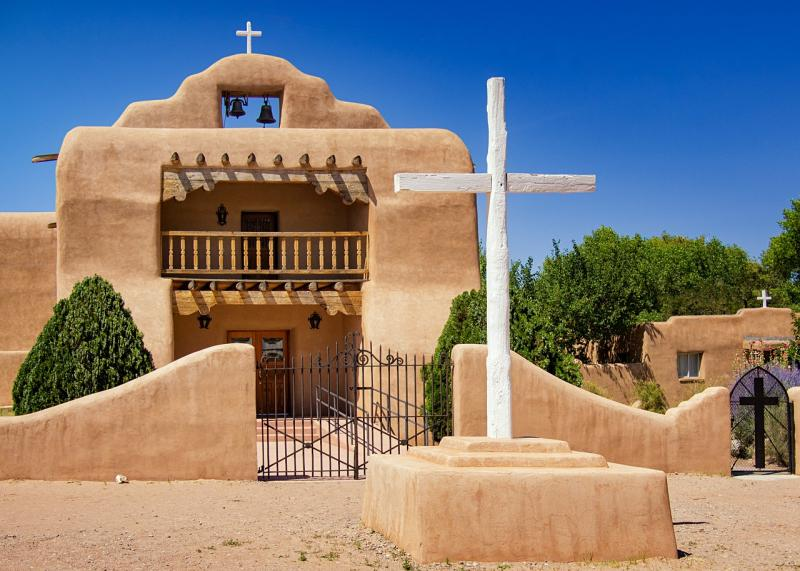 Kirche in Abiquiú, New Mexico