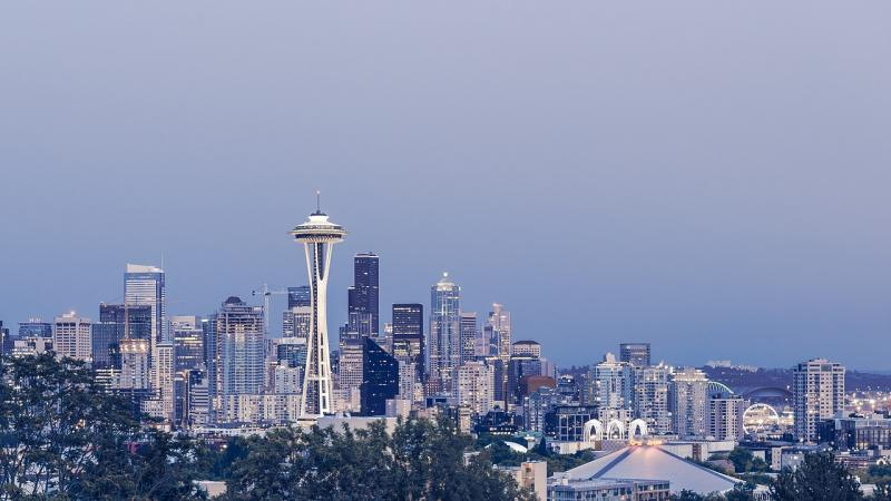 Skyline von Seattle, Washington